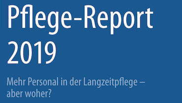 Cover Pflege-Report 2019