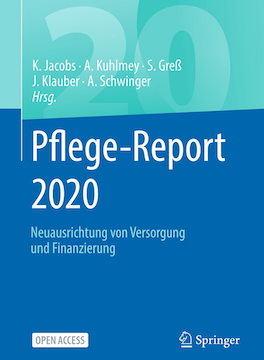 Cover: Pflege-Report 2020 - kh