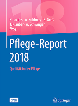 Cover Pflege-Report 2018