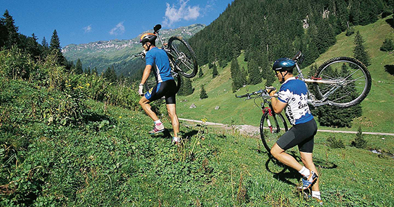 Foto: Mountainbiken